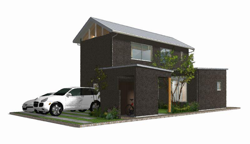 平井南棟 iパース図-南西 800pix